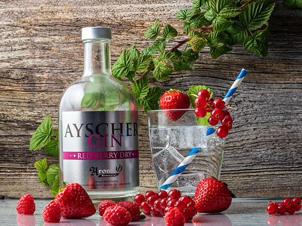"""""""Ayscher Gin"""" Red Berry London Dry"""